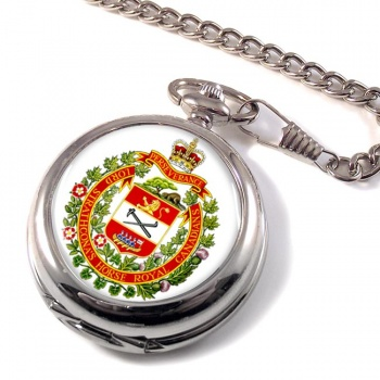 Lord Strathcona's Horse (Royal Canadians) Pocket Watch