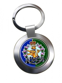 Lorne Scots (Peel Dufferin and Halton Regiment) Canadian Army Chrome Key Ring