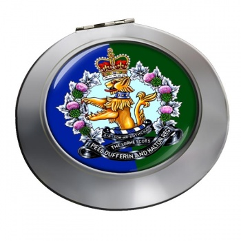 Lorne Scots (Peel Dufferin and Halton Regiment) Canadian Army Chrome Mirror