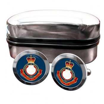 Lincoln and Welland Regiment (Canadian Army) Round Cufflinks