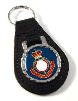 Lincoln and Welland Regiment (Canadian Army) Leather Key Fob