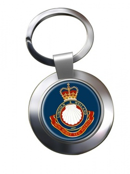 Lincoln and Welland Regiment (Canadian Army) Chrome Key Ring