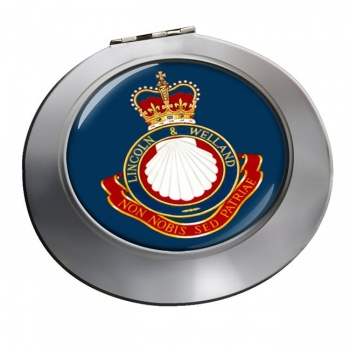 Lincoln and Welland Regiment (Canadian Army) Chrome Mirror