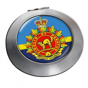 Ontario Regiment (Canadian Army)  Chrome Mirror