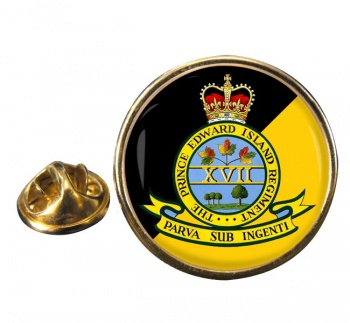 Prince Edward Island Regiment (Canadian Army)  Round Pin Badge