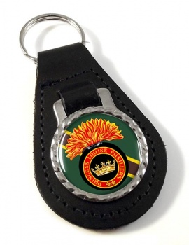 Princess Louise Fusiliers (Canadian Army) Leather Key Fob