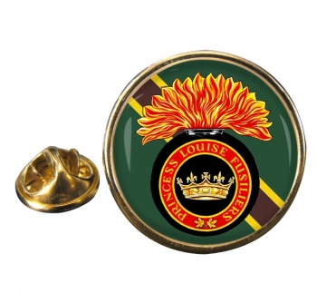 Princess Louise Fusiliers (Canadian Army) Round Pin Badge