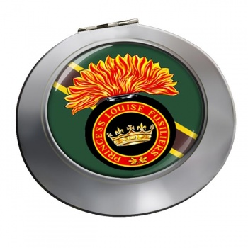 Princess Louise Fusiliers (Canadian Army) Chrome Mirror