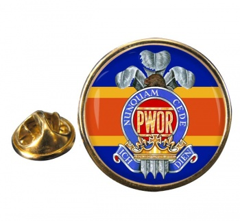 Princess of Wales' Own Regiment (Canadian Army)  Round Pin Badge