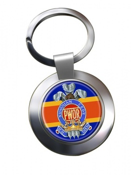Princess of Wales' Own Regiment (Canadian Army)  Chrome Key Ring