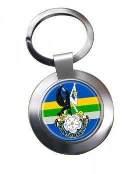 Royal Canadian Hussars (Montreal) Chrome Key Ring