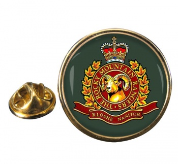 Rocky Mountain Rangers (Canadian Army) Round Pin Badge