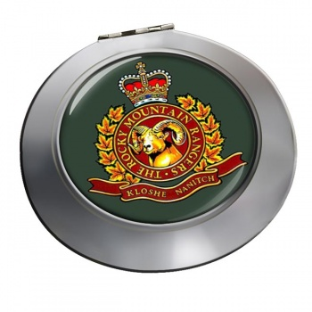 Rocky Mountain Rangers (Canadian Army) Chrome Mirror