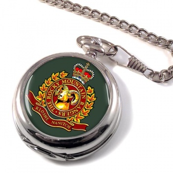 Rocky Mountain Rangers (Canadian Army) Pocket Watch