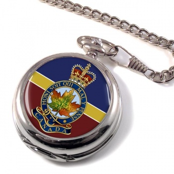 Royal Montreal Regiment (Canadian Army)  Pocket Watch