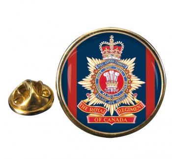 Royal Regiment of Canada (Canadian Army) Round Pin Badge