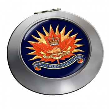 Royal Westminster Regiment (Canadian Army)  Chrome Mirror