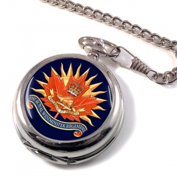 Royal Westminster Regiment (Canadian Army)  Pocket Watch