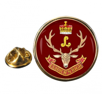 Seaforth Highlanders of Canada (Canadian Army) Round Pin Badge