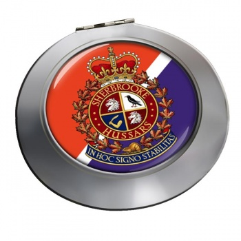 Sherbrooke Hussars (Canadian Army) Chrome Mirror