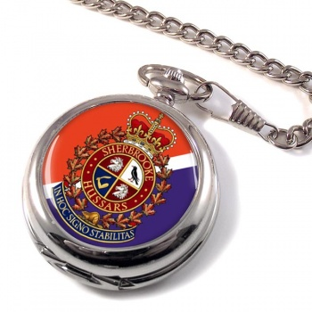 Sherbrooke Hussars (Canadian Army) Pocket Watch
