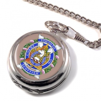 Toronto Scottish Regiment (Queen Elizabeth The Queen Mother's Own) Canadian Army Pocket Watch