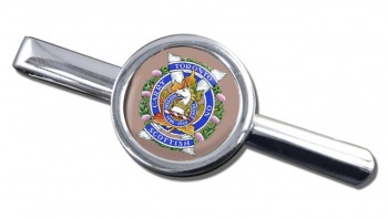 Toronto Scottish Regiment (Queen Elizabeth The Queen Mother's Own) Canadian Army Round Tie Clip