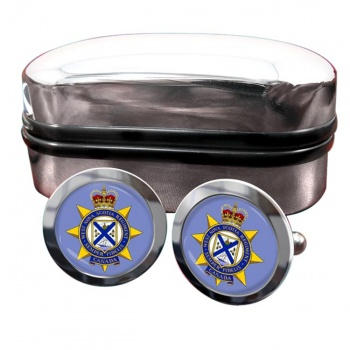 West Nova Scotia Regiment (Canadian Army)  Round Cufflinks