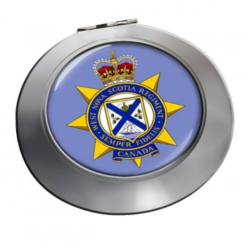 West Nova Scotia Regiment (Canadian Army)  Chrome Mirror