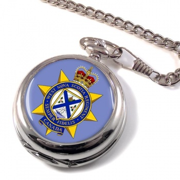 West Nova Scotia Regiment (Canadian Army)  Pocket Watch