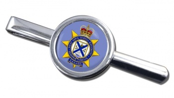 West Nova Scotia Regiment (Canadian Army)  Round Tie Clip