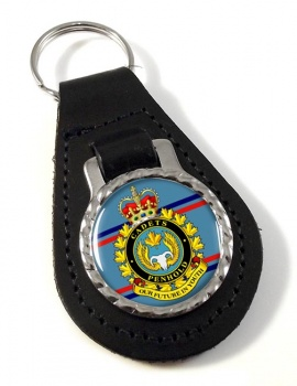 Air Cadet Summer Training Centre Canadian Cadets Leather Key Fob