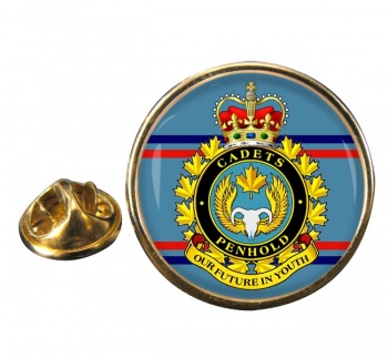 Air Cadet Summer Training Centre Canadian Cadets Round Pin Badge