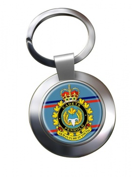 Air Cadet Summer Training Centre Canadian Cadets Chrome Key Ring