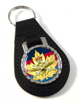 Cadet Instructor Cadre (Canadian Cadets) Leather Key Fob