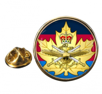 Cadet Instructor Cadre (Canadian Cadets) Round Pin Badge