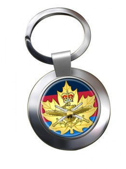 Cadet Instructor Cadre (Canadian Cadets) Chrome Key Ring