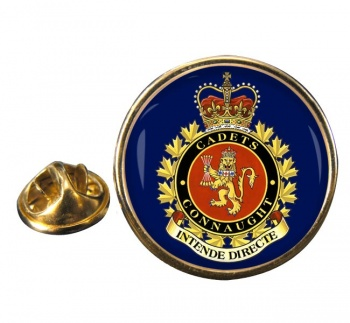 Connaught National Army Cadet Summer Training Centre (Canadian Cadets) Round Pin Badge