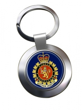 Connaught National Army Cadet Summer Training Centre (Canadian Cadets) Chrome Key Ring