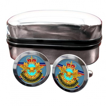 Royal Canadian Air Cadets Round Cufflinks
