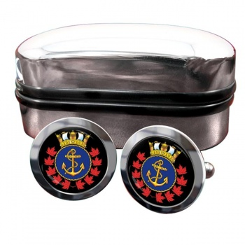 Royal Canadian Sea Cadets Round Cufflinks