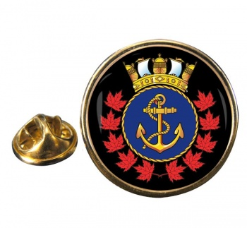 Royal Canadian Sea Cadets Round Pin Badge