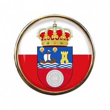 Cantabria (Spain) Round Pin Badge