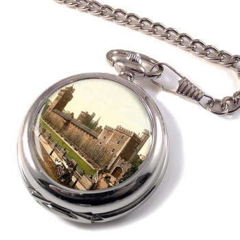 Cardiff Castle Pocket Watch