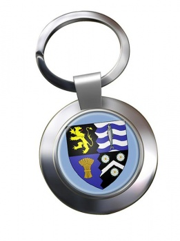 Cardiganshire Ceredigion  Metal Key Ring