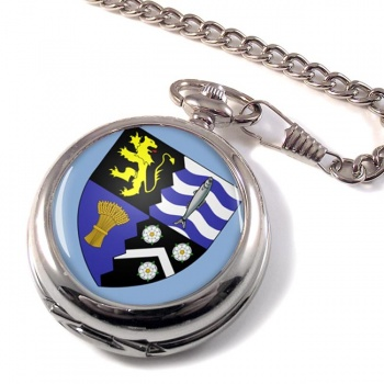 Cardiganshire Ceredigion (Wales) Pocket Watch