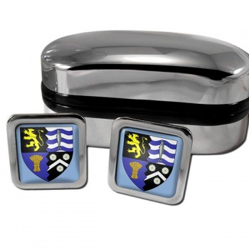 Cardiganshire Ceredigion  Square Cufflinks