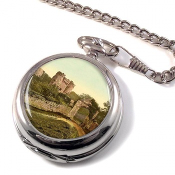 Carisbrooke Castle Isle of Wight Pocket Watch