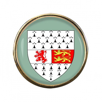 County Carlow (Ireland) Round Pin Badge