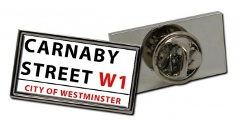 Carnaby Street Rectangle Pin Badge